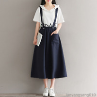 Mori Girl Japanese Loose Bandage Dress Sleeveless Lolita Women's Elegant Dresses
