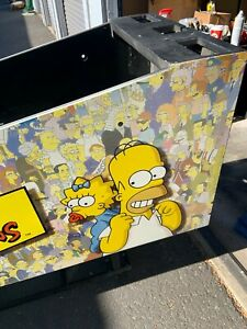 SIMPSONS PINBALL PARTY - NOS Lower Cabinet