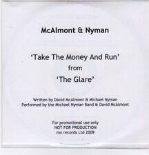 (BO796) McAlmont & Nyman, Take The Money And Run - 2009 DJ CD