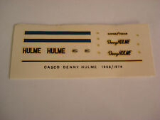 DECALS KIT 1/12 DENNY HULME  MCLAREN F1 FDS AUTOMODELLI