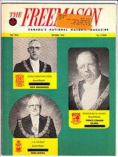 The Freemason Canada National Masonic Magazine October 1975 Nova Scotia