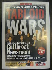 TABLOID WARS emmy PROMO DVD 2EPISODES BRAVO DOCU-SERIES CUTTHROAT NEWSROOM