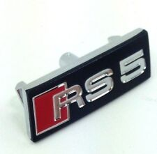 Genuine Audi RS5  A5 steering wheel OEM badge logo emblem 8T0419685A3Q7.    RS5