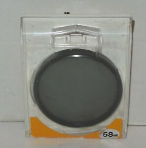 Promaster Circular Polarizing Filter 58mm with Original Case Film or Digital
