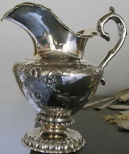 Gerardus Boyce Coin Silver Sterling Pitcher c1830