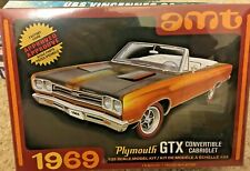 1/25 1969 Plymouth GTX Convertible Cabriolet ~ AMT by Round 2 models