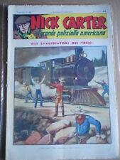 Nick Carter Il Grande poliziotto americano Anni 40 n°79 ed. NERBINI  [G369]