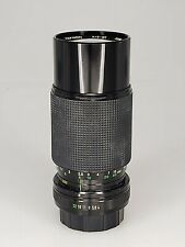 Tefnon 80-200mm F4 Pentax PK Lens  (S4-15)