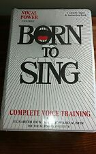 BORN TO SING COMPLETE VOICE TRAINING NEW CASSETTES AND BOOK
