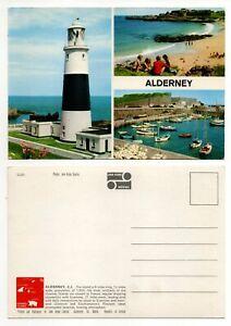 Alderney Channel Islands Multiview Postcard J Hinde