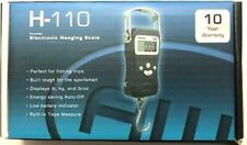 AWS H-110 Portable Electronic Hanging Scale, 110 lb Capacity (fish, luggage) NEW