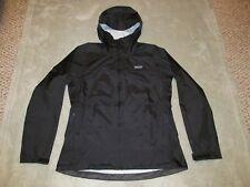 Patagonia Women's Torrentshell Jacket M Medium Black Waterproof Rain Coat H2No