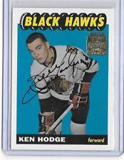 KEN HODGE 2002 TOPPS ARCHIVES ROOKIE REPRINT AUTOGRAPH AUTO -BLACK HAWKS!!