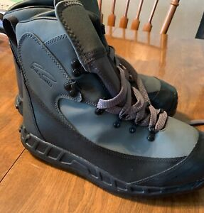 Patagonia Rock Grip Aluminum Bar Wading Boots fly fishing size 9
