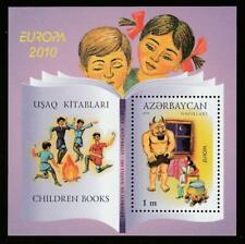AZERBAIJAN 2010 EUROPA CEPT CHILDREN'S BOOKS SOUVENIR SHEET MNH