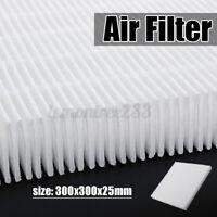 30x30cm Luftfilter HEPA Staubfilter Luft reinigen für Ventilator Klimaanlage