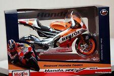 Honda moto gp 2014 #26 daniel pedrosa - 1:10 maisto PVP 28,99 €