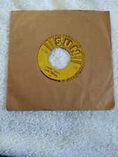 Carl Perkins 45-SUN RECORDS- Blue Suede Shoes Honey Don't  rockabilly