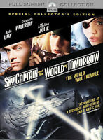 Sky Captain and the World of Tomorrow (DVD, 2005, Full Frame) Jude Law Angelina