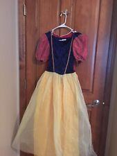 Disney Store SNOW WHITE Adult Princess Halloween Costume Size Medium EUC