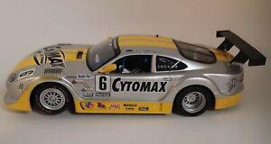 Scalextric C2761 Jaguar XKRS Cytomax #6, Customized, 1/32 Slot Car