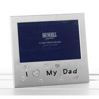I Love My Dad Photo Frame Christmas Fathers day Birthday Occasion 6 x 4 Gifts