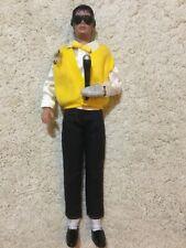 Rare Michael Jackson Human Nature doll with sunglasses mic vintage 1984