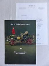 Opel Programm - Rekord Kadett Coupe Caravan - Prospekt Brochure 02.1966