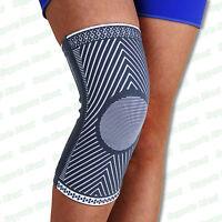 Medical Compression Elastic Knee Support Sleeve Brace Patella Injury Arthritis
