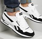 Reebok Royal Glide Ripple Clip Men's Shoes White/Black G55738 UK 7.5 to 12