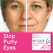 NIP & TUCK RESTORE & RENEW EYE CREAM YOUNGER ANTI-AGING NO BAGS DARK CIRCLES