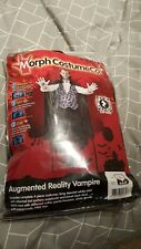 Adults Large Augmented Reality Vampire Halloween Morphsuit Fancy Dress Costume