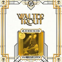 "Walter Trout : No More Fish Jokes: 25th Anniversary Series VINYL Limited  12"""