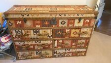 Timothy Oulton Ampleforth Sideboard kilim pattern