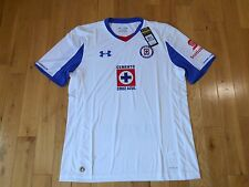 NWT Under Armour DEPORTIVO CRUZ AZUL MEXICO Soccer Football Jersey Kit Mens XL