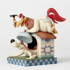 Jim Shore Skulptur LOONEY TUNES -Foghorn Leghorn and Dawg- Enesco Figur 4052815