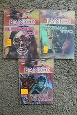 PANICO, LOT OF 3 MEXICAN COMICS, LIBRO VAQUERO, Solitario, Kaliman, memin