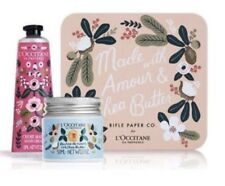 L'Occitane x Rifle Paper Co. Limited Edition Shea Butter Amour Set with Tin NEW