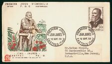 Mayfairstamps France FDC 1959 Jean Jaures First Day Cover wwr_01775