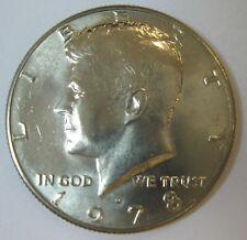 1978-D John F Kennedy Clad Half Dollar In Choice BU Condition  DUTCH