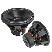 "2 Pack American Bass XFL-1522 15"" Subwoofers Dual 2 Ohm 2000 Watts Max Car Audio"