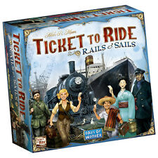 Ticket to Ride Rails and Sails Board Game - New