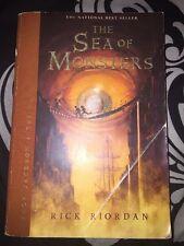SIGNED Percy Jackson the Olympians The Sea of Monsters , Rick Riordan (2007, PB)