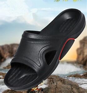 Men's household shower non-slip slippers swimming pool beach soft sole sandals