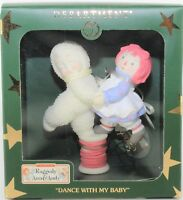 Dept 56 Snowbabies Dance With My Baby Raggedy Ann & Andy Ornament