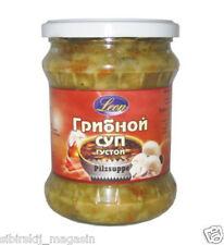 "SUPPE mit Pilzen Leon 500ml, Суп ""С грибами"" LEON 500мл"