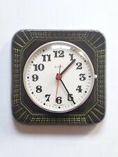 Vintage ceramic german wall clock
