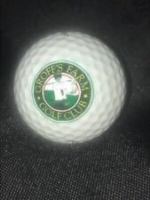 Groff'S Farm Golf Club display Golf Ball w/ Logo for Cabinet Pinnacle 3 New