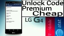 Unlock Code AT&T T-Mobile LG G3 D851 D850 G2 D800 k371 k425 P769 E980 Escape 2