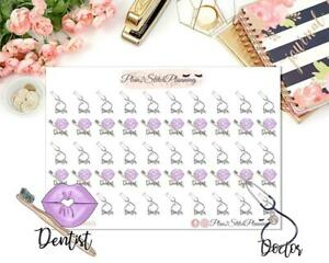 Appointment Functional Planner Stickers, Scrapbooking, Journalling